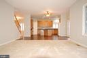 Family room open to kitchen, great for entertainme - 8599 EASTERN MORNING RUN, LAUREL
