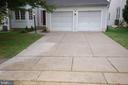 Maintenance free concrete driveway 4 multiple cars - 8599 EASTERN MORNING RUN, LAUREL