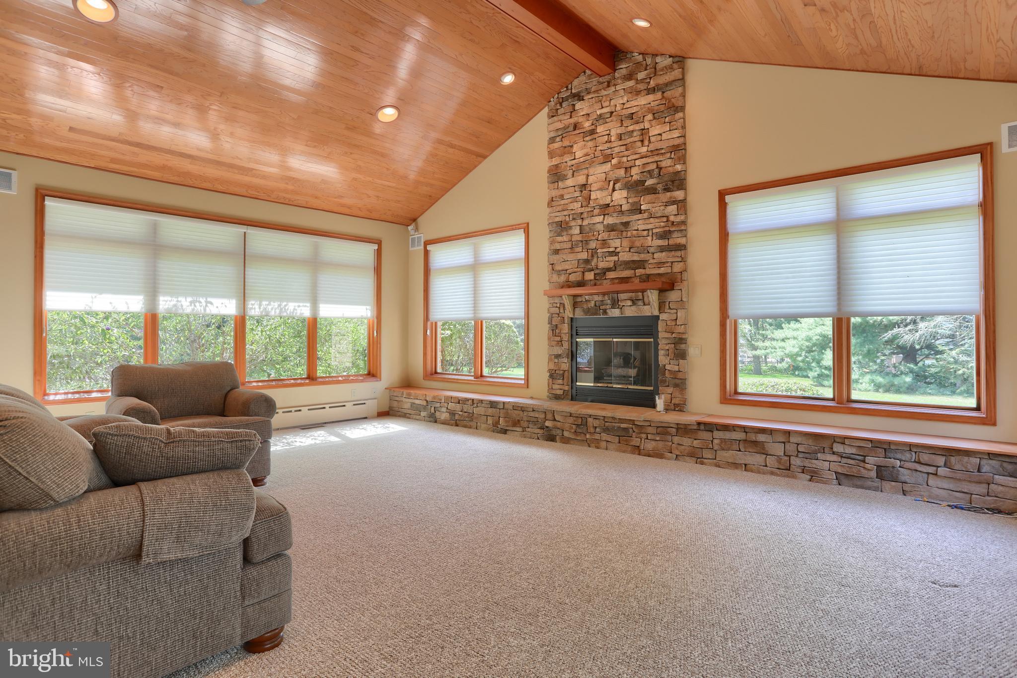 Great room with wonderful windows!