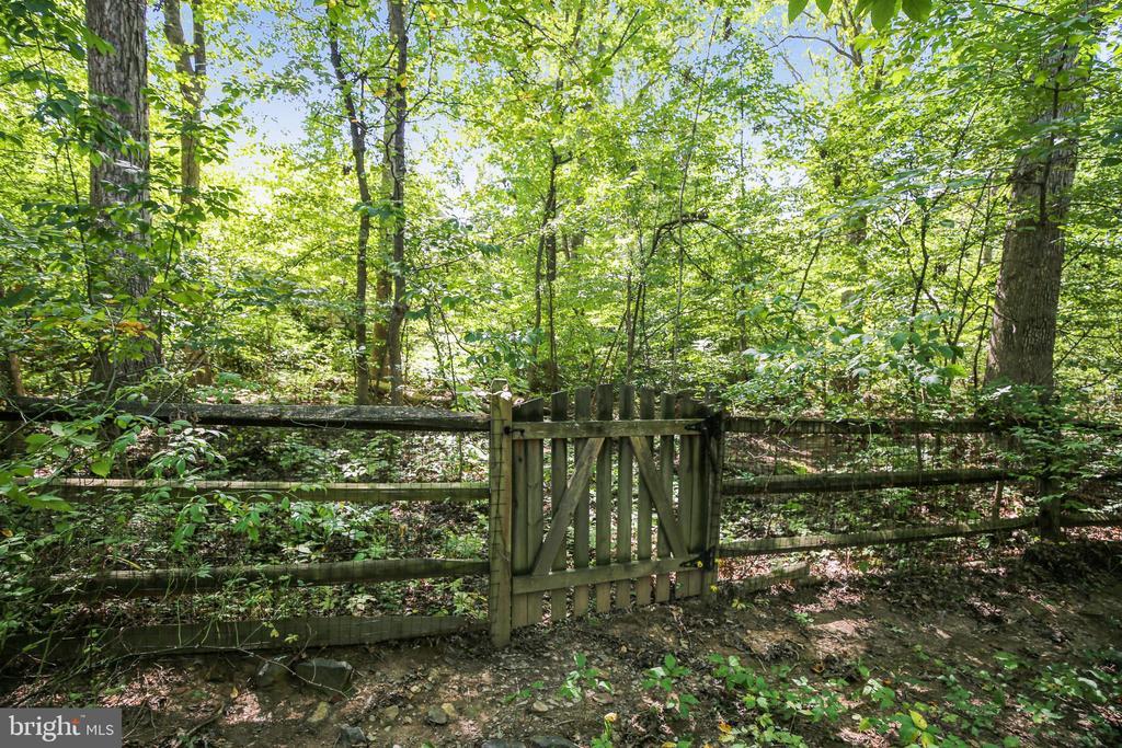 Two gates into rear yard - 11955 GREY SQUIRREL LN, RESTON