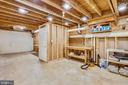 Huge storage/ workshop/ craft space - 11955 GREY SQUIRREL LN, RESTON