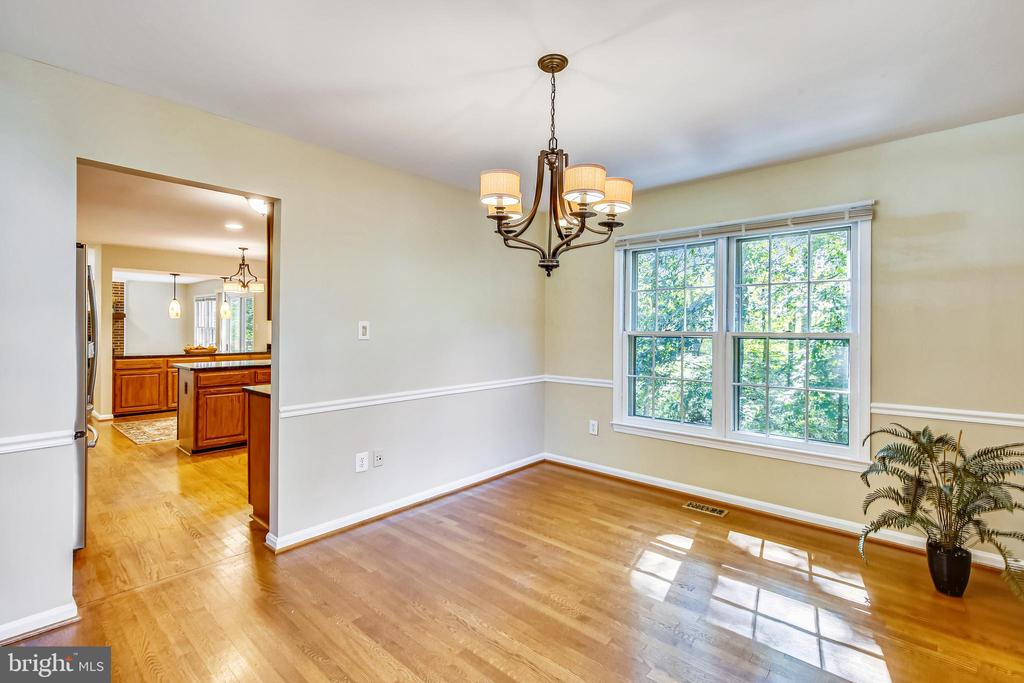 If not a dining room maybe  an office - 11955 GREY SQUIRREL LN, RESTON