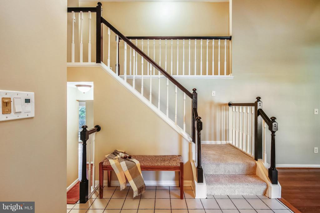 Enter from front door or garage - 11955 GREY SQUIRREL LN, RESTON