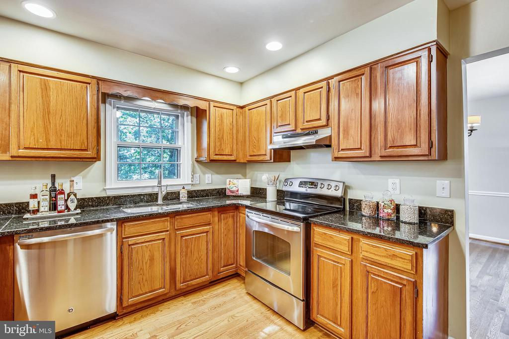 Gourmet kitchen with lots of cabinets - 11955 GREY SQUIRREL LN, RESTON