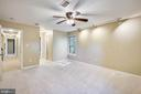 Large bedroom with separate closets - 11955 GREY SQUIRREL LN, RESTON
