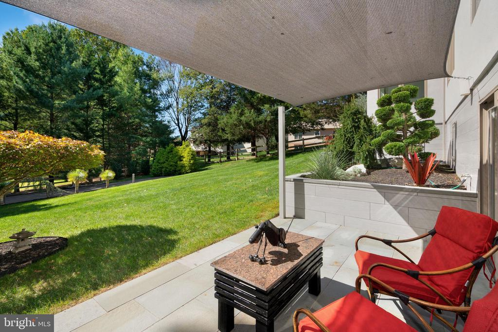 VIEW FROM FRONT PATIO - 13814 ALDERTON RD, SILVER SPRING