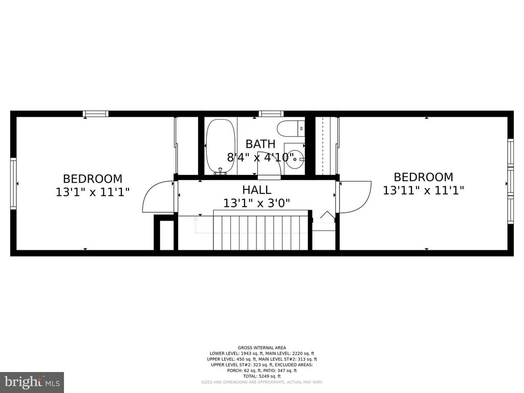 UPPER LEVEL - 13814 ALDERTON RD, SILVER SPRING