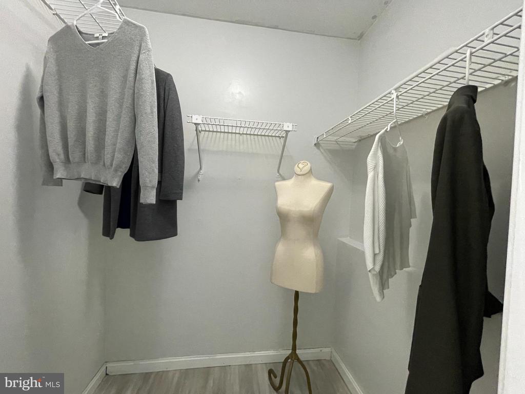 Bedroom-2 walk-in closet - 11713-D KARBON HILL CT #707A, RESTON