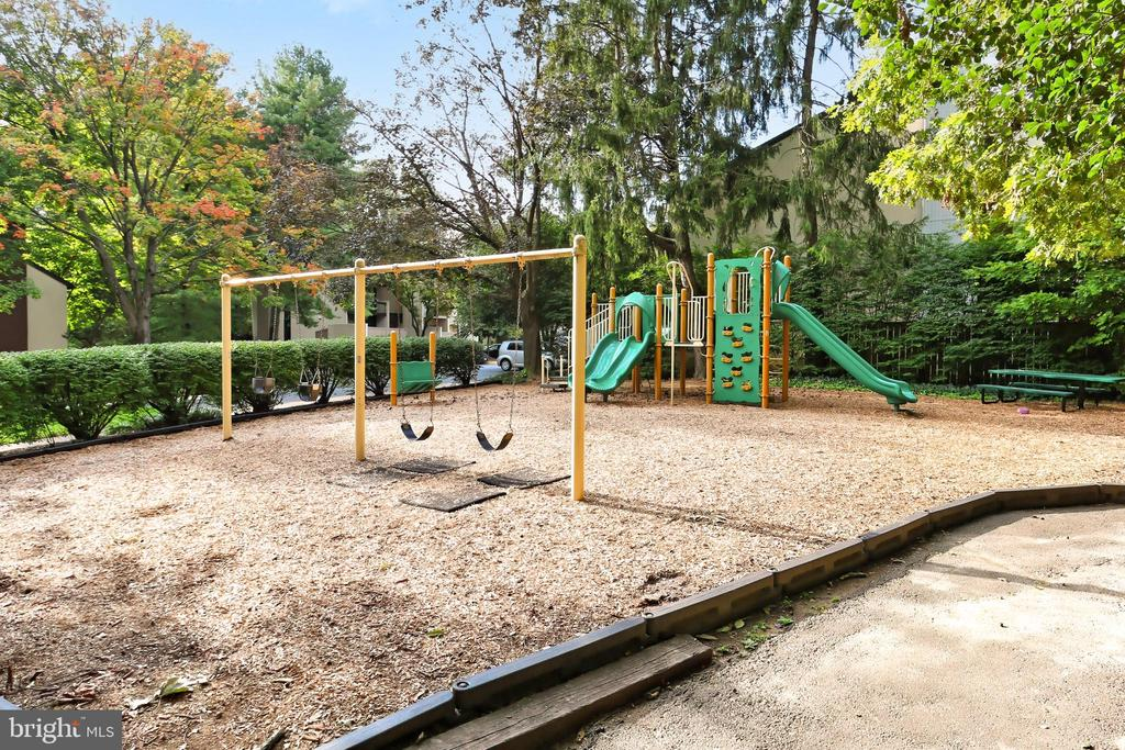 Playground located across the street - 11704 NEWBRIDGE CT, RESTON