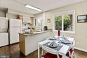 Dining and kitchen - 3112 S FOX ST, ARLINGTON