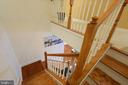 Staircase leading to upper level - 1418 N RHODES ST #B-112, ARLINGTON