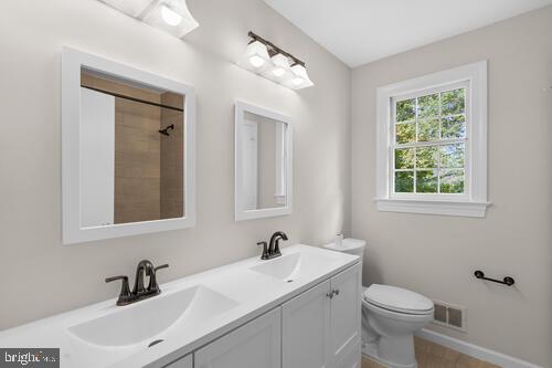 2nd Floor Full Bath - 6317 LENOX RD, BETHESDA