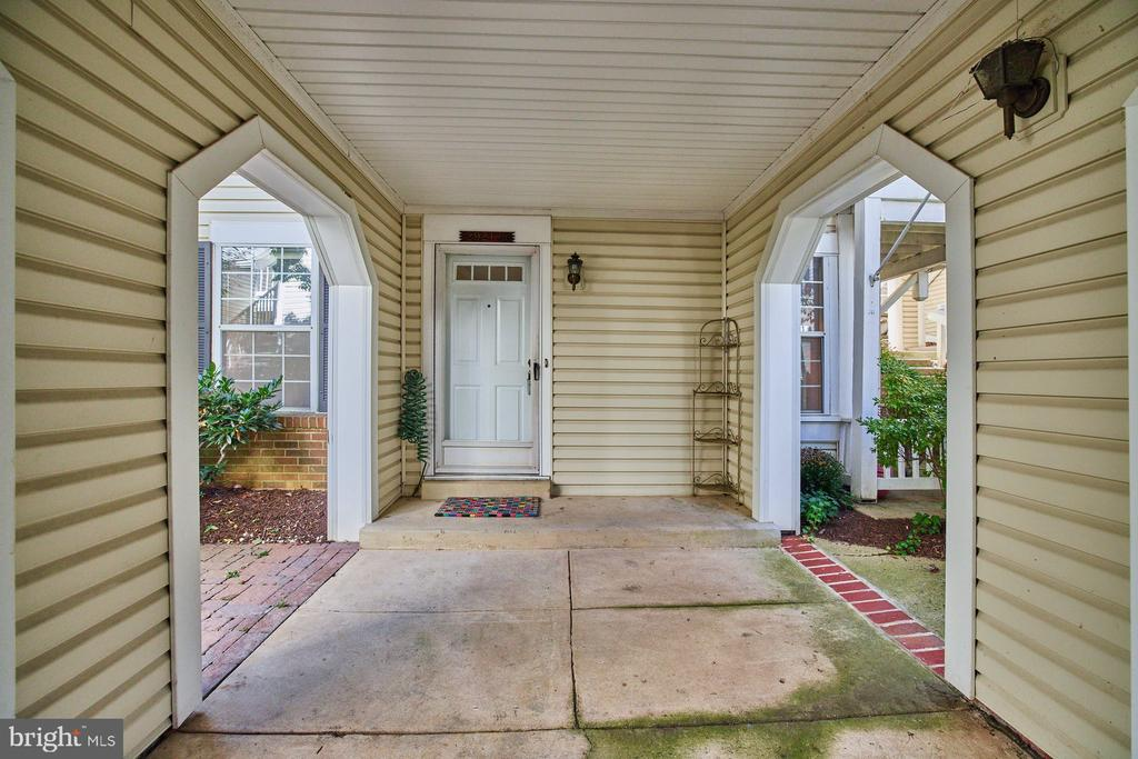 Covered Areas - 2921-B S WOODLEY ST #1, ARLINGTON