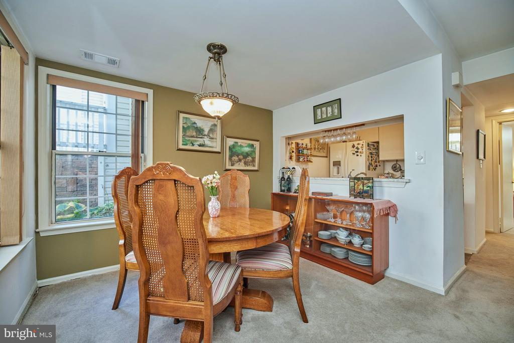 Dining Room - 2921-B S WOODLEY ST #1, ARLINGTON