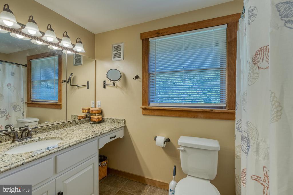 Jack and Jill full bath - upstairs - 29471 NEW HAMPSHIRE RD, RHOADESVILLE