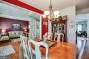 Dining Room - 8 REMINGTON CT, STAFFORD