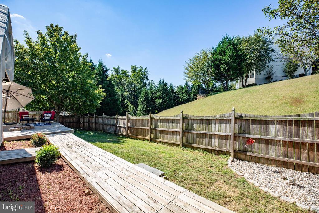 Fully Fenced Yard - 8 REMINGTON CT, STAFFORD
