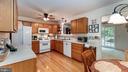 Efficient and spacious updated kitchen - 9835 PLAZA VIEW WAY, FREDERICKSBURG