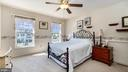 Spacious primary bedroom - room for a king bed - 9835 PLAZA VIEW WAY, FREDERICKSBURG