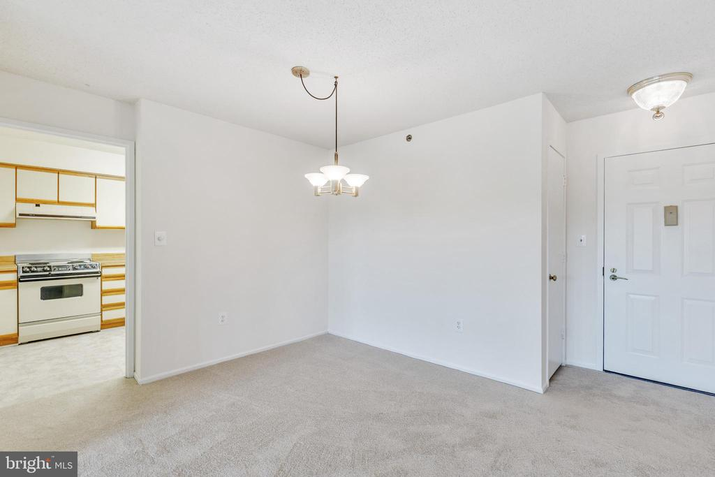 Dining area - 3330 N LEISURE WORLD BLVD #5-518, SILVER SPRING