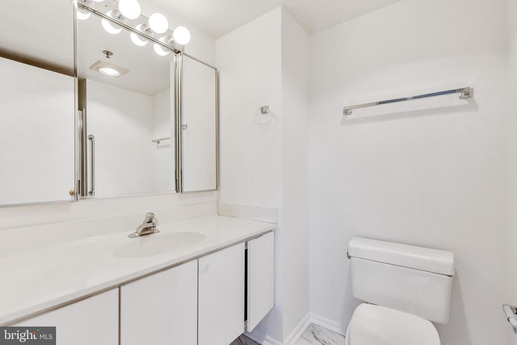 2nd full bathroom - 3330 N LEISURE WORLD BLVD #5-518, SILVER SPRING