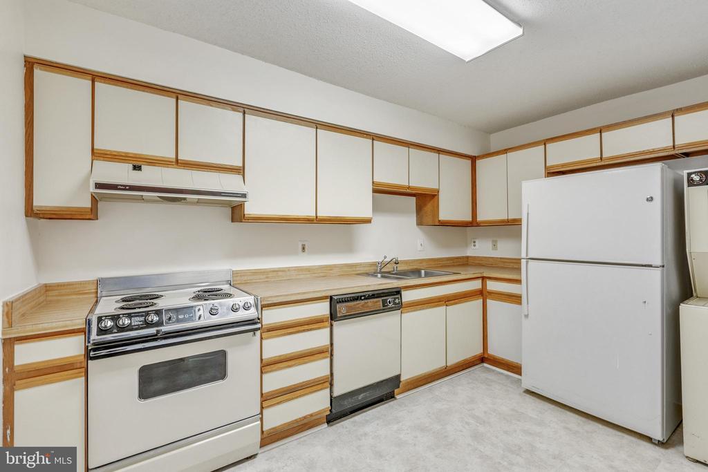 Kitchen - 3330 N LEISURE WORLD BLVD #5-518, SILVER SPRING