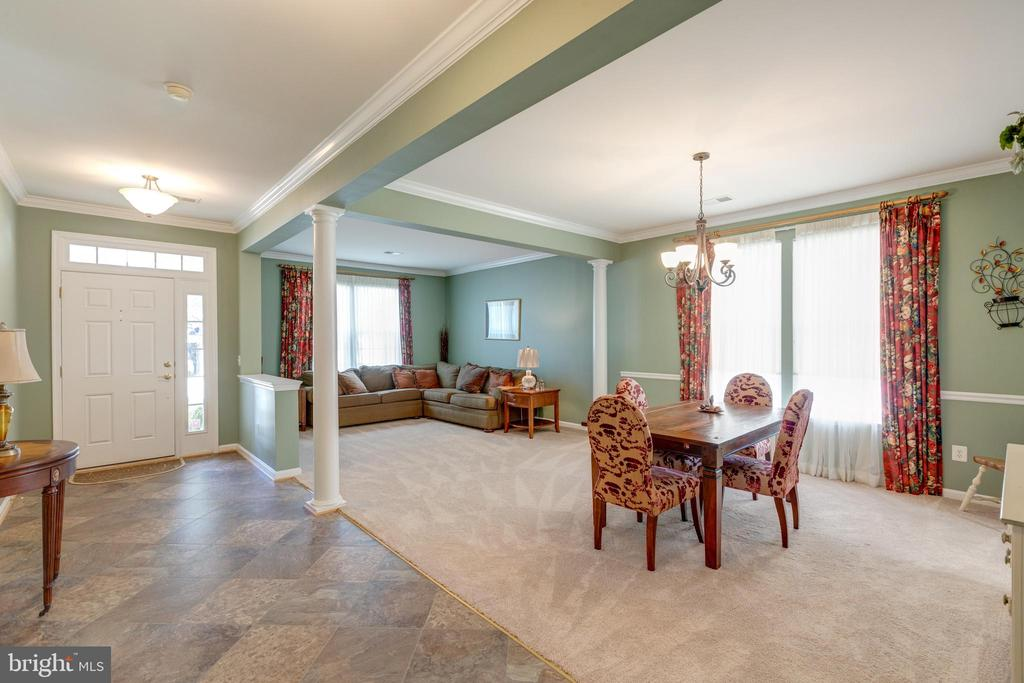 Living Room and Dining Room - 3647 SECRET GROVE CT, DUMFRIES
