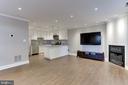 Spacious open floor plan - 4113 11TH PL N, ARLINGTON