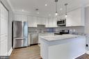 Newer remodeled kitchen - 4113 11TH PL N, ARLINGTON
