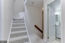 Stair access to 3rd level loft - 4113 11TH PL N, ARLINGTON