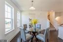 Dining area with water view - 1634 SANDPIPER BAY LOOP, DUMFRIES