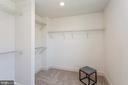 Large walk in closet - 1634 SANDPIPER BAY LOOP, DUMFRIES