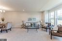 Living area at front of home - 1638 SANDPIPER BAY LOOP, DUMFRIES