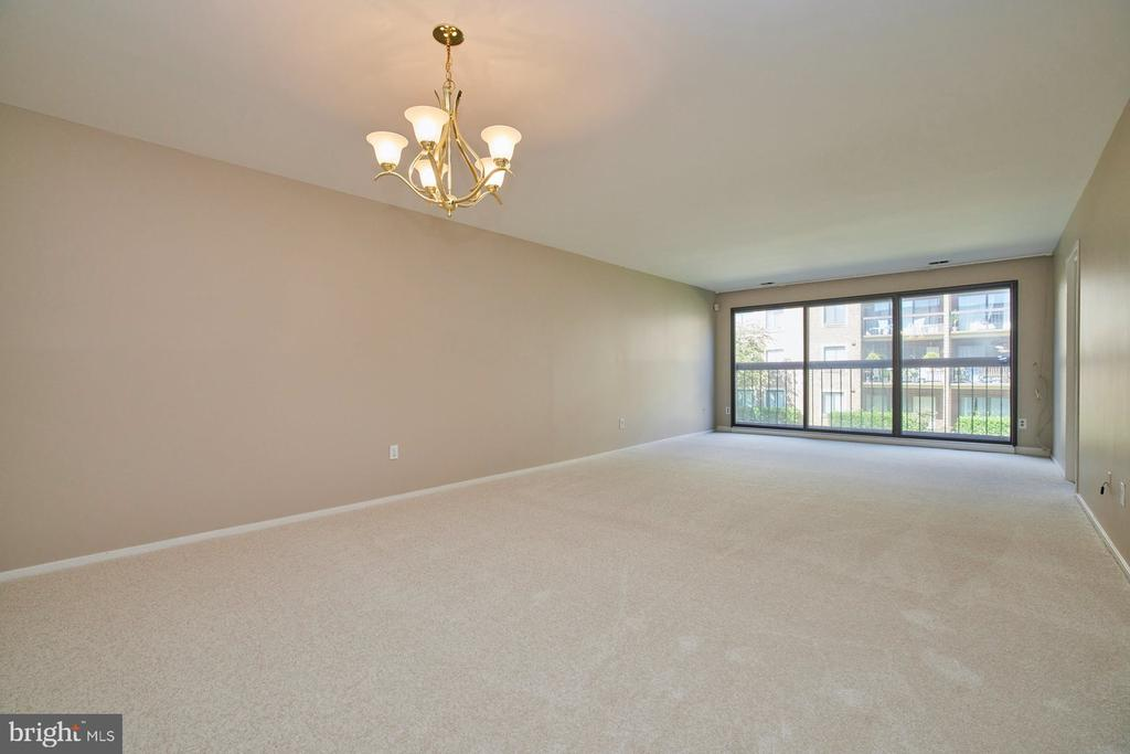 Combination Living and Dining Room - 10300 BUSHMAN DR #204, OAKTON