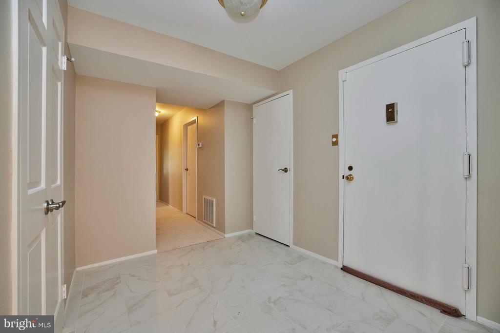View to Bedrooms - 10300 BUSHMAN DR #204, OAKTON