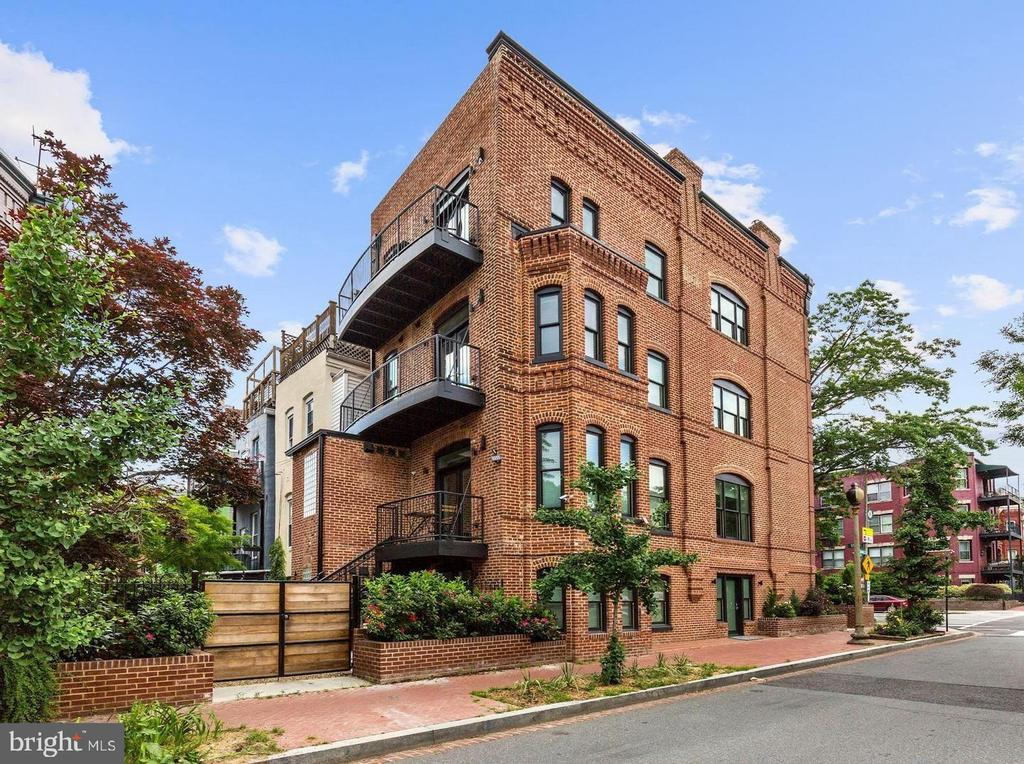 Remarkable and rare offering on one of Washington's most sought after streets. 1620 15th St NW is an immaculately constructed and maintained 3-Unit building featuring beautiful design and dramatic outside views. This end unit rowhouse has 4,215 sq ft of interior space and has unobstructed North, South, and East facing views. There are 4 balcony spaces including a two level rooftop deck with breathtaking views of DC. Exquisite attention to detail guided the 2018 complete restoration of this building. Featured are 2 one bedroom units and 1 three bedroom Penthouse (2 levels). High ceilings, spacious room configurations, and European design make each unit highly sought after in the lease market, commanding monthly rental rates well above average. This building is perfect for short or long term rentals and is an excellent option for those looking to live in one unit and lease the others for excellent return on investment. Detailed financial information to be furnished upon request and registration. Showings are by appointment only.