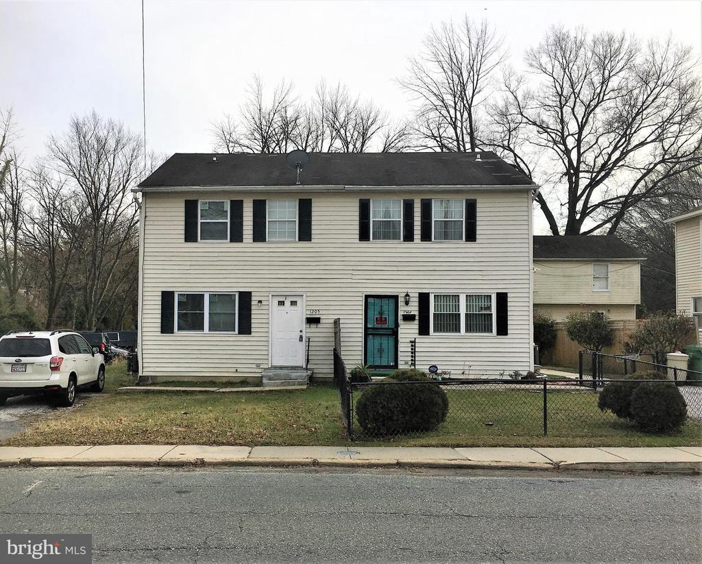 Move-in ready neat and tidy town home with 3 beds and 1+1/2 baths. New carpets, fresh paint, sliders lead to back yard, fully finished basement with plenty of storage. Your own driveway parking. Near Morgan State and local shopping. 650 minimum credit score.