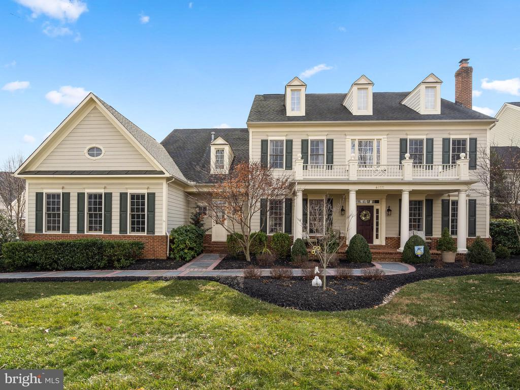 ~ A Beacon Hill Beauty ~ Over 7,000 Fin. Sq. Ft. on 3 levels, Backs to Trees, on the Cul-de-sac, in the Hamlets of Prestigious Beacon Hill. Come Home to the Elegant Touches throughout this home. From the Lead Walk of Flagstone and Brick Soldier Coursing that leads you to the Stately Columns, and once you're through the front door and look up at the Curved Balcony in the Two-Story Foyer, you'll be impressed by this Updated Home. Enjoy the Light and Bright Open Floor Plan: 11' ceilings; a Formal Dining Room that could almost host a State Dinner, across from the Formal Living Room with a Wood-Burning Fireplace that can be bold or cozy. The Back Hallway conveniently gives access to the Office with its Glass French Doors. Adjoining the Kitchen is the Family Room with an Open Design and a Wall of Windows with Plantation Shutters and Transoms. The Raised Gas Fireplace brings warmth and comfort. Stack books and collectibles on the Built-In shelf. Connect to the multimedia hub with Surround Sound Speakers in the ceiling and in other ceilings through the home. A Perfect Entertaining Area is a great way to describe the Expansive Kitchen, whether you're grilling outside or cooking in the Kitchen. There is Extensive Quartz Counter Space, 2 Dishwashers, Cabinet Glass Door accents, Easy Access to the Covered Brick Paver Patio, and a space for a table. The Kitchen boasts Stainless Steel Appliances; Double Wall Oven; Huge Center Island with a Veggie Sink, Breakfast Bar Seating Area, and Copious Cabinet Space. The Polished Quartz Counter is accentuated with a rich Ogee Edge. All the Quartz Countertops in the Kitchen, Center Island, Planning Desk and Butler's Pantry and throughout the home are new as well as the Sinks and Faucets. Other Wonderful Features of the Main Level are: Modern Contemporary Chandelier in the Formal Dining Room; a Butler's Pantry tucked in-between the Kitchen and Dining Room; 3-piece Crown Molding; Chair Rail; Columns; and Shadowbox Trim. There's a 2nd Staircase