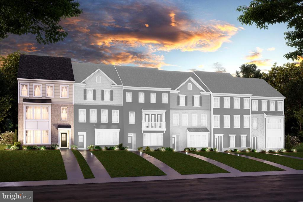 For a limited time, save up to $19,000 on select quick move-in homes!* Estimated May delivery! This end unit, 3-level quick move-in townhome features an open great room & kitchen, home office, & spacious rear deck. The master boasts a tray ceiling & walk-in closet with a spa-inspired bathroom complete with a rain showerhead & frameless shower enclosure. 4 bedrooms, 3.5 baths, and a 2-car rear load garage at 2,336 sq. ft. 1st floor bedroom with private closet and attached bathroom. 2nd floor private office with storage closet. 6 x 19 treated deck off of great room. Kitchen with stainless steel Whirlpool~ appliances, iced white quartz island, painted harbor cabinets, artic white backsplash and pantry. 12mm thick laminate floors throughout 2nd floor, foyer, and powder room. Staircase with oak tread painted risers and open rail. Spacious master bedroom with tray ceiling and expansive walk-in closet. Sport shower with frameless shower enclosure & rain shower head, painted harbor cabinets, iced white quartz countertops, and double raised vanities in master bathroom. City Loft Designer Paint Package! *Amenities include Jack Nicklaus Signature Golf Course, Ali Krieger Sports complex, Canoe Club, modern gym, movement studio, yoga lawn, eight-lane competition pool, family pool with sundeck & cabanas, parks & trails, clubhouse, demonstration kitchen, community garden, and working greenhouse!