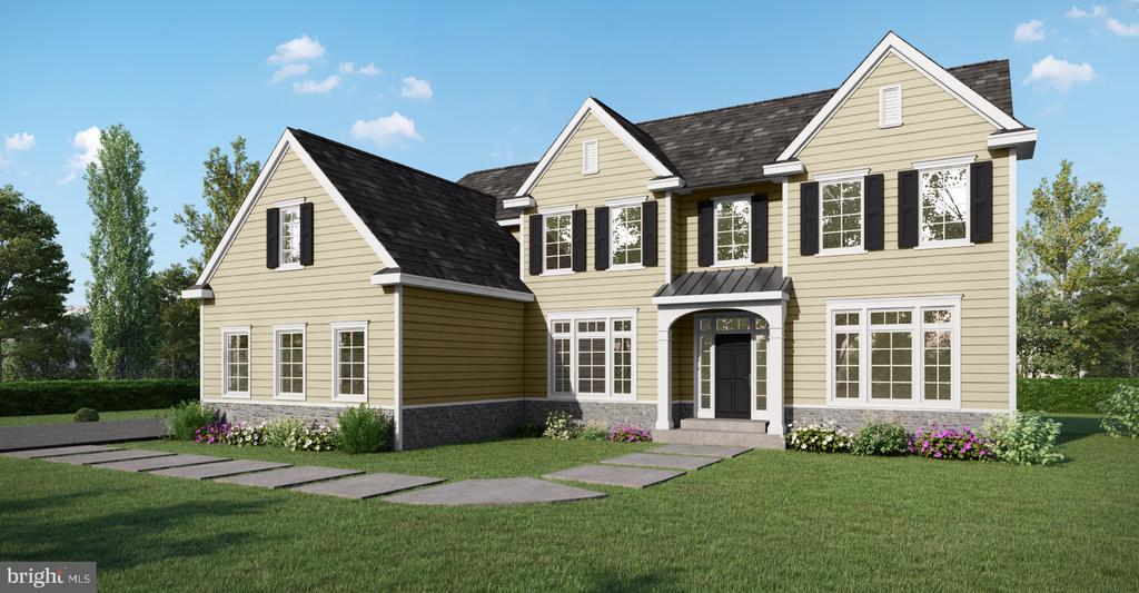 Welcome to The Gulph Estates.  Two breathtaking homes are to be built on beautiful three quarter acre lots in a fantastic location, just minutes away from the heart of Wayne!  You will love working with the builder who is known for his quality, custom craftsmanship, and your own dedicated interior designer for all interior and exterior selections! Watch your dream home come to life! This Instagram worthy home features a stunning open floor plan with a variety of unique design elements - such as salvaged pieces and reclaimed wood from the original historic home that sat on the property! The layout offers 5 bedrooms, 4.1 baths, a full basement, and 3 car garage . The first floor is complete with a large foyer, first floor study, formal living room and dining room. Designed for functionality, multiple closets are located on the first floor along with a mudroom leading to the garage.  An incredible kitchen will feature a professional grade stainless steel appliance package and a generously oversized Quartz kitchen island - ideal for entertaining.  The adjoining breakfast area opens into the family room, thoughtfully designed with a fireplace, making it the perfect space to cozy up. Upstairs you will find the 5 bedrooms, 4 bathrooms and a laundry suite with the option of an additional bedroom with a walk-in closet and a private bath.  And finally, the grand, master suite is an oasis equipped with generously sized his and her walk-in closets and a luxurious master bath. The master bath will be your own private spa with a walk-in double shower, freestanding or built-in tub, private toilet closet, and his and her custom, handcrafted vanities and makeup station.  This home will meet all of your needs and exceed your dreams.  Please note that the exterior photo is an artistic rendering and does not show the actual home.