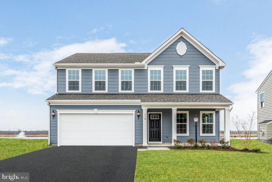 Lowest priced single-family homes located minutes from Route 1 and I-95 in northern Middletown by Delaware~s #1 Homebuilder. The Venice celebrates easy living with style and grace. A welcoming foyer leads right into a formal room, which can either be used as a living room or dining room. A hallway is flanked by a convenient powder room on one side and stairs leading up to the second level. Through the hallway, the magnificent great room awaits and is large enough to accommodate a family of any size. Add an optional fireplace to provide a focus for the room. The dining area and kitchen flow right from the family room. The large kitchen boasts a pantry, ample cabinetry, and room for an optional island. A convenient mudroom provides easy access to the two-car garage. Upstairs, four spacious bedrooms await, with two bathrooms, including a large owner~s bathroom. For a spa-like experience in the comforts of home, upgrade the owner~s bathroom to include a soaking or jet tub, and dual vanities. Closet and storage space abound. The laundry room is discreetly tucked away on the upper level, making doing the laundry an easier chore. Call today and schedule your visit to see how easy it is to call High Hook Farms home.