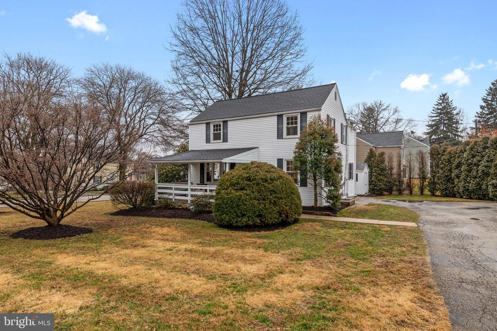 Welcome home to your adorable, affordable, West Wayne gem~ 601 Lanmore! Don~t wait! Here is your opportunity to own a four bedroom, two and half bath, darling saltbox colonial offered at a great value. Located in one of Radnor Township~s most coveted and charming neighborhoods, with tree lined streets and sidewalks it borders Warren Filipone Memorial and Bo Connor Parks, is walking distance to Downtown Wayne, Devon Yards, Radnor Trail, trains and shopping. Don~t miss out!! This house shows very well!  Freshly painted, this turnkey home features on the first floor a modern eat-in kitchen, powder room, formal dining room, and family room. Off the kitchen are French sliders leading to a patio. The second floor has three bedrooms and a hall bath, a master suite with a bathroom and vaulted ceiling. Partially finished basement with  basement laundry, hardwood floors throughout, replacement windows, central air, side patio, and front porch are just some of the added features current homeowner added during ownership.  All this and Radnor Township Award Winning schools!