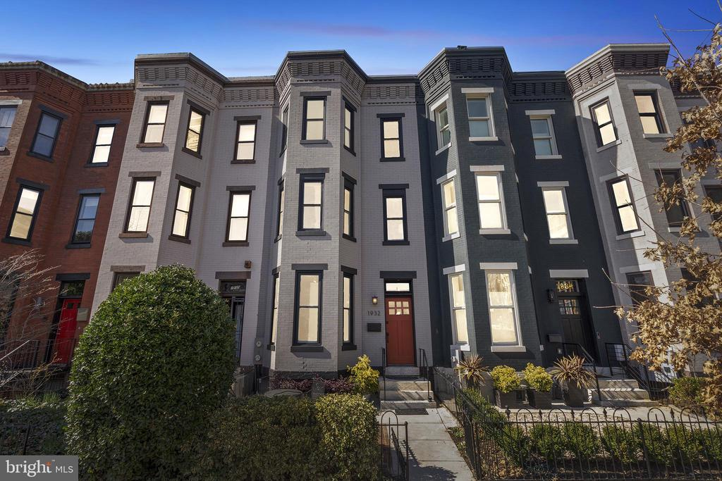 **FULL 6% CAP RATE IN DUPONT CIRCLE** Modern luxury and classic character meet in this gorgeous four-unit rowhouse in Dupont Circle! The property has 3,548 square feet of living space - one of the LARGEST on the block. All four units have been recently renovated featuring tall ceilings, hardwood floors, and updated kitchens with quartz or granite counters and SS appliances. There's also extra storage in the basement, a large laundry room with two W/D sets, and TWO rear parking spaces. The property has been well-maintained with updates to the roof in the past 4 years and a NEW upper HVAC system in Jan 2020, plus the lower HVAC system was replaced in the past 4 years. The property also has a new exterior front door and a fresh coat of paint on the exterior. New carpeting was installed throughout the common areas, plus almost all the windows throughout the property are double-paned to help with insulation. The 1BR/1BA penthouse unit offers a large, bright living space with three exposures, two skylights, a working fireplace, and spacious modern kitchen. Both studio units offer a tranquil retreat with an updated kitchen and light-filled living space. The two-level 2BR/2BA unit has a light-filled living space with a wood-burning fireplace and great kitchen. The Dupont Circle location can't be beat - walk to Metro, grocery stores, and several popular restaurants. Walk Score: 96  Bike Score: 95