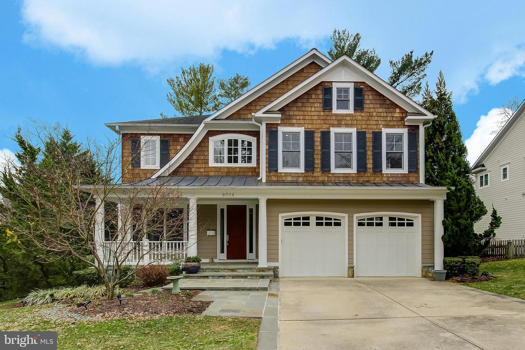Welcome to this beautiful custom home located in the coveted Landon Woods neighborhood. This home has a comfortable architectural flow with large spaces for entertaining. Features include custom 7' tall doors throughout entire home, 9' ceilings on all 3 levels, decor baseboards, oak hardwood flooring on 1st and 2nd levels and lower level au pair/in law suite with separate entrance. Unwind on the front porch or relax on rear deck and enjoy the private backyard. Conveniently located within minutes to downtown Bethesda, metro, bus routes, 495 and Downtown DC. This is a gem of a home, community and commuters dream! OPEN Sun 3/1 2-4pm