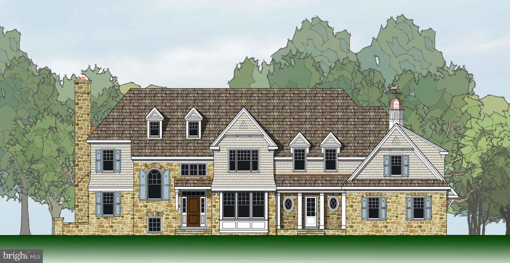 Permits in Progress and Ready for Your Selections!  This Shingle Style Berkeley is situated on one of our premier homesites (Lot 8) on Ivy Lane at Ardrossan Farms.  The Berkeley floor plan with 5 bedrooms and open floor plan concept offers the perfect opportunity to customize your dream home with the well-respected Pohlig Builders.  Located just off Newtown Road at the notable stone water tower, the enclave neighborhood of Ivy Lane is set apart with a unique streetscape including brick-paver sidewalks, cobblestone curbs, vintage streetlights, street trees, post lights, and front walks along.    Base prices starting at $2.29M for the Eldon floor plan.   Lot premiums will apply. Photos and elevations may show optional features not included at Base Price.