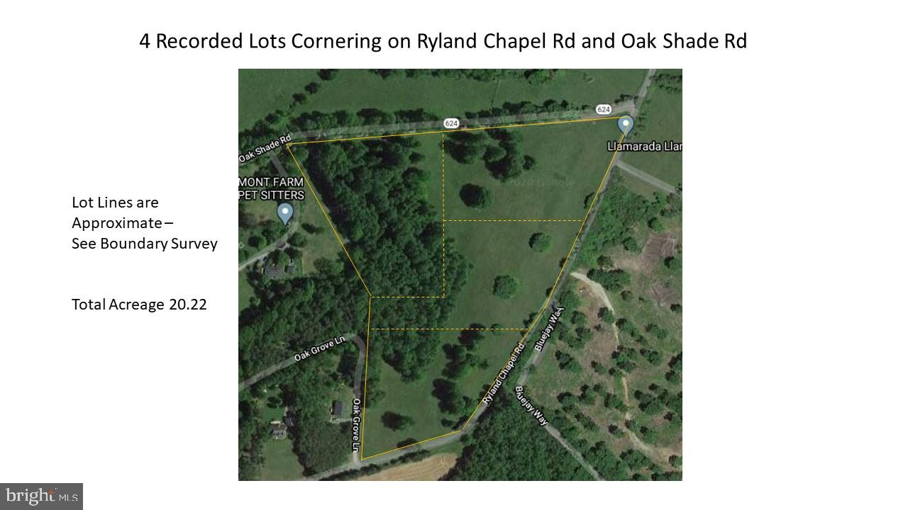 OAK SHADE AND RYLAND CHAPEL ROAD, JEFFERSONTON, VA 22724