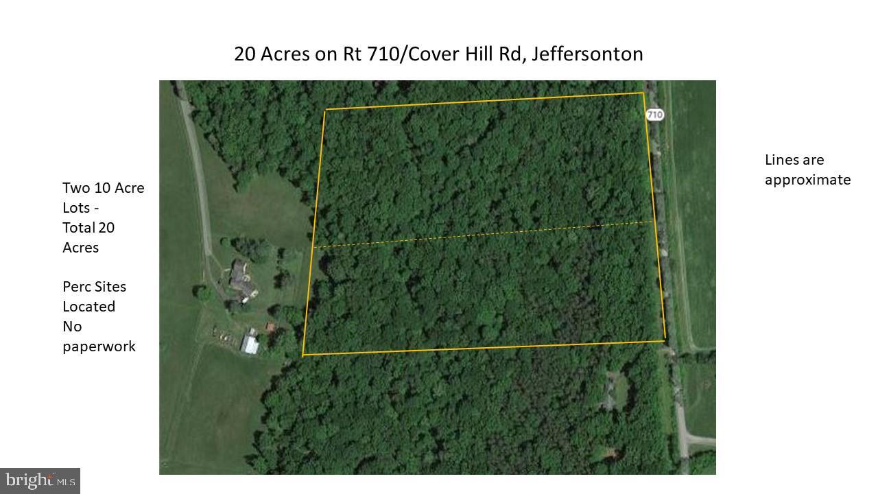 0 CLOVER HILL ROAD, JEFFERSONTON, VA 22724