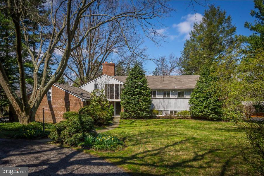 Set on a most sought after quiet tree lined street in Gladwyne (Bloomberg ranked Gladwyne as the 6th most-affluent Zip code in the entire country). This level 1.76 acres of ground is surrounded by mature trees and is the perfect setting for your dream home. This split level is ready for a total renovation to be revived and restored, with all the luxurious details and picture windows you desire. The lot can easily also accomodate a swimming pool and pool house.  Prime Main Line location close to Philadelphia Golf Club, easy access to highways and center city. Award-winning Lower Merion schools. https://bit.ly/3duiiV6