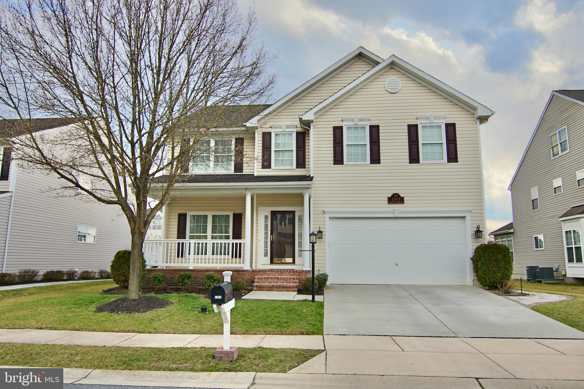 1263 COLONIAL PARK DRIVE, SEVERN, MD 21144