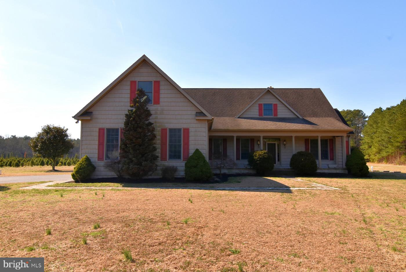 Searching   for a  beautiful , private , maybe income producing opportunity , Tree farm w/ tree inventory , farm equipment ( Kubota Tractor w / accessories,  Atv's , w/ trailers, MOWERS , several augers  chain  saws , baler, tree shaker and more , all this this may be yours.   Resting on 20.1 acres , a wonderful home for over 18 years to OWNERS and one can see and feel the   their  pride in  maintaining their  special  place   . The  home is 4 bedrooms 3 full and 1 half bath   , two fireplaces one wood ( in Living Room ) and a  propane see through in master bedroom into   a very light filled  and airy in home office . Even, I could see with all that natural light .! Two walk in closets , large master bath , visit and you will see  . Very open ,floor plan , great for entertaining  with over sized almost a commercial kitchen  , sit at counter , or breakfast table ,  plenty of (of windows ) for extra sun light and very special views . Your dinner guest  can be seated in the formal dining room  . Real Hardwood  floors , in like new condition . A home with flow and charm ,, could be yours -unfinished second floor . * note sellers have an interested  investor , who wishes to lease the tree farm for the new owner , an added value if your searching for a home and investment property .